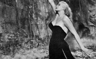 Anita Ekberg dans la «Dolce Vita» de Frederico Fellini.