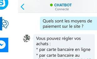 Illustration chatbot