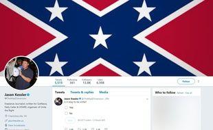 Twitter a «vérifié» le compte du nationaliste américain Jason Kessler.