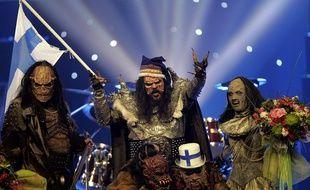 Le groupe finlandais Lordi, vainqueur de l'Eurovision 2006.