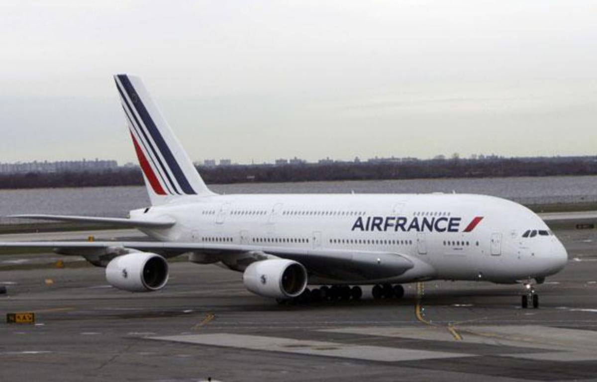 Un appareil de la compagnie Air France, sur la piste de l'aéroport JFK à New-York, en avril 2011 – Seth Wenig/AP/SIPA