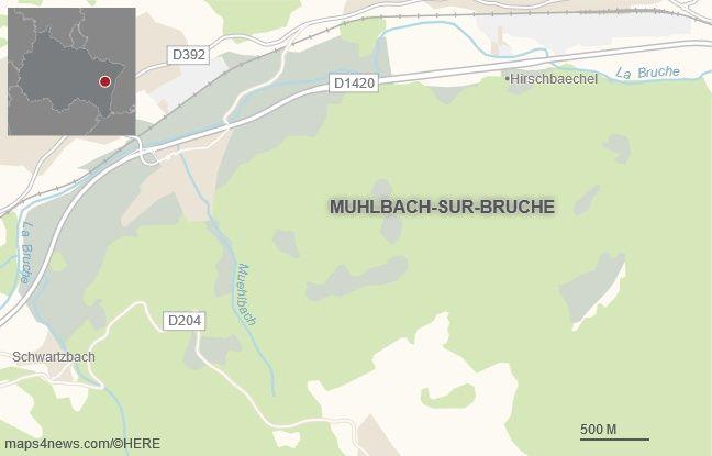 La commune de Lutzelhouse, dans le Bas-Rhin