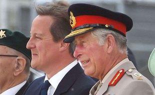 Le Premier ministre britannique David Cameron et le prince Charles, le 15 août 2015.