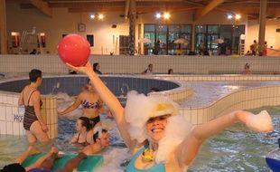 300 fêtards avaient investi la piscine des Gayeulles en 2016 pour la 2e édition de Good Morning Rennes.
