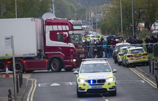 Royaume-Uni: Les 39 victimes, retrouvées dans un camion frigorifique, sont vietnamiennes