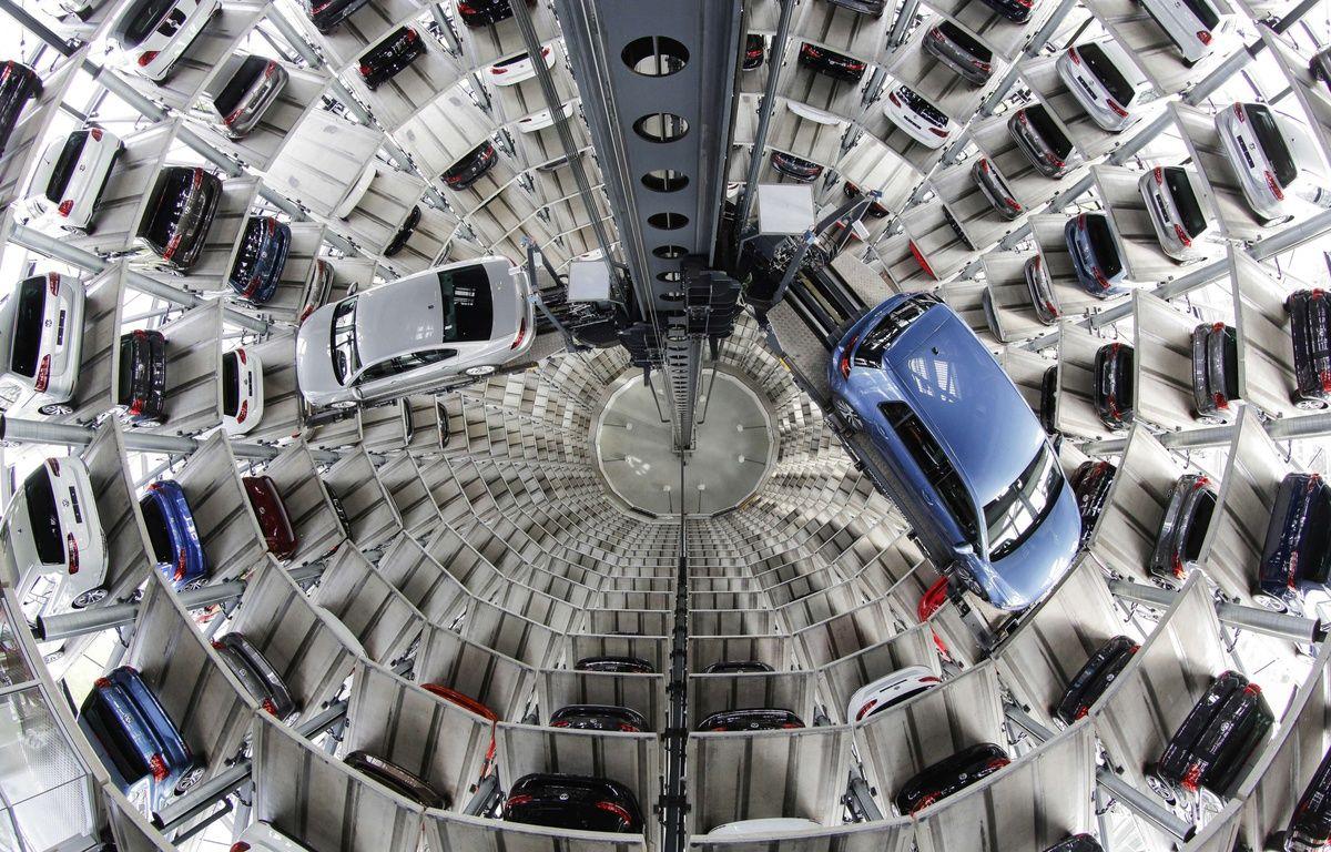 La tour Volkswagen à Wolfburg en Allemagne. – Markus Schreiber/AP/SIPA