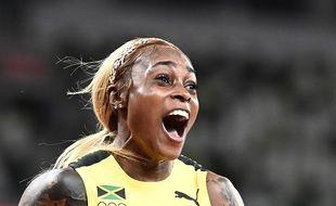 Elaine Thompson s'impose sur le 100m.