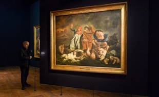 L'exposition sur Delacroix est la plus fréquentée de l'histoire du Louvre.