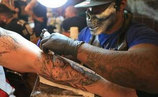 Jensen Soobrayen, Soo Ink. Convention du tatouage, Tattoo flash fest et Wounded  Carnivale. Strasbourg le 17 juin 2018.