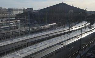 Vue en date du 13 novembre 2014 de la gare du Nord à Paris