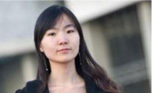Mudi Wang, étudiante à Cergy.
