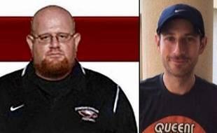 Le coach assistant Aaron Feis et le professeur de géographie Scott Beigel font partie des 17 victimes de la fusillade dans un lycée de Floride du 14 février 2018.