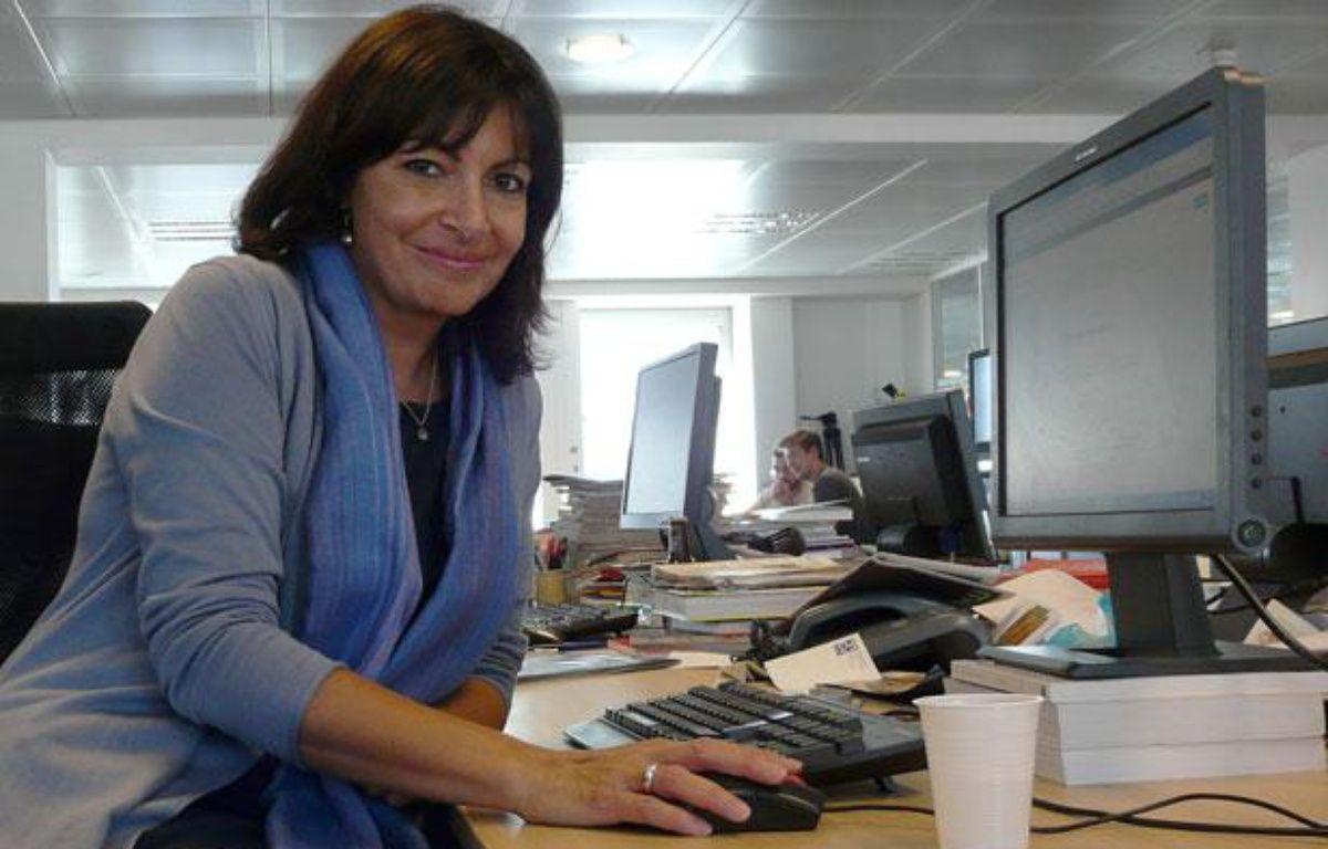 Anne Hidalgo, à 20 Minutes, octobre 2011 – Charlotte Gonthier