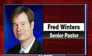 Capture d'écran du site de Fox News, qui montre la photo du pasteur tué, Fred Winters