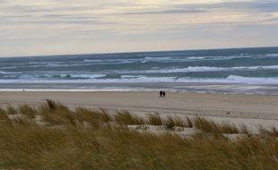 Vagues sur le littoral Atlantique