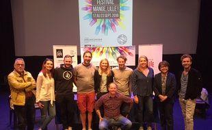 Les organisateurs du festival Mange Lille 2018