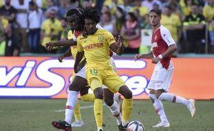 Samuel Moutoussamy face à Monaco.