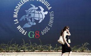 Le 35e sommet du G8 à Aquila en Italie s'est ouvert le 8 juillet 2009
