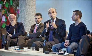 Les acteurs de l'économie sociale étaient réunis hier à Bordeaux autour d'Alain Juppé.
