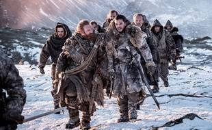 Kit Harington et Kristofer Hivju (Jon Snow et Tormund Giantsbane) dans la saison 7 de la série «Game of Thrones».