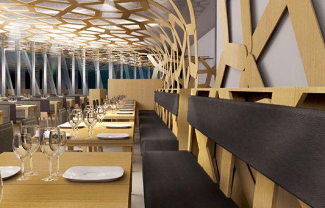 Image du restaurant Le 7, à la future Cité du vin de Bordeaux