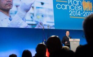 François Hollande a présenté le 3e plan cancer.