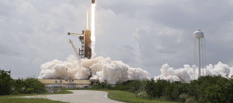 Le décollage de SpaceX à Cape Canaveral le 30 mai 2020.