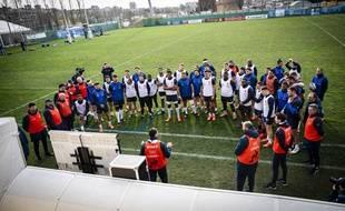 Le XV de France était déjà venu en préparation à Nice, en janvier 2020, sans le protocole sanitaire ultra strict de cette année