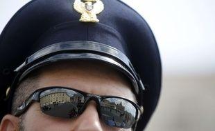 Illustration d'un policier italien.