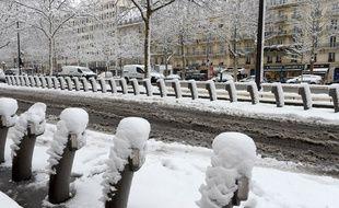 Paris sous la neige.