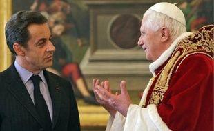 Le 20 décembre 2007, Nicolas Sarkozy avait déjà obtenu une audience auprès du pape.