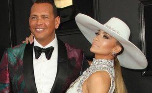 Les futurs mariés Alex Rodriguez et Jennifer Lopez