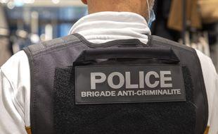 Un policier d'une brigade anticriminalité. Illustration.