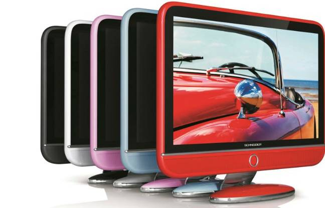 La marque française Schneider vient de renaître avec, notamment, une gamme de téléviseurs Full HD au design rétro.