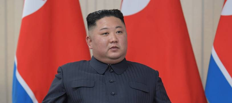 Le leader nord-coréen Kim Jong-un en visite en Russie le 25 avril 2019.