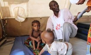Des réfugiés centrafricains sont pris en charge par MSF au camp de Bitoye, au Tchad.