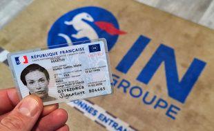 La nouvelle carte d'identité française.