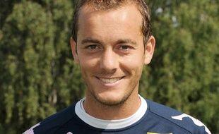 Hervé Bugnet, joueur de Evian-Thonon-Gaillard, le 28 juillet 2011.