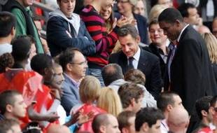 A noter la présence exceptionnelle du président de la République Nicolas Sarkozy, qui n'a toutefois pas voulu révéler sa préférence pour une équipe alors qu'il se rendait épisodiquement au Parc pour voir le PSG avant d'être président.