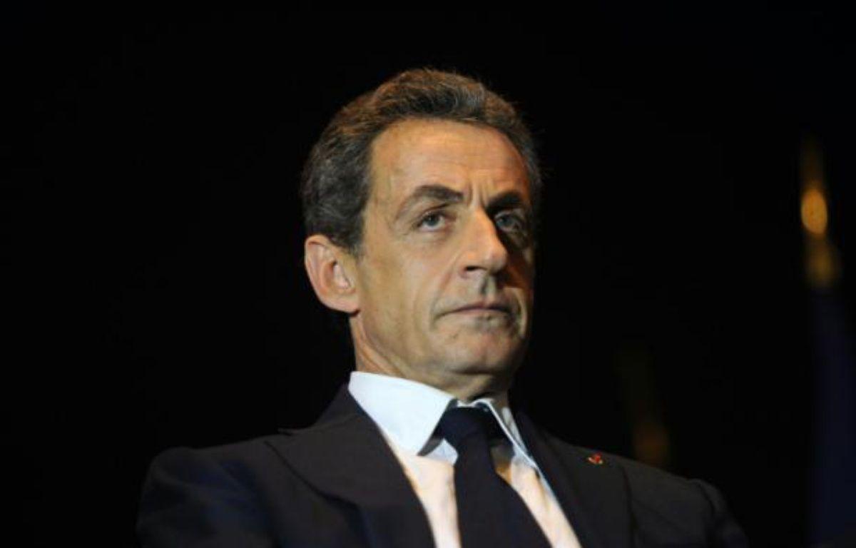 Nicolas Sarkozy le 8 décembre 2015 à Rochefort – XAVIER LEOTY AFP