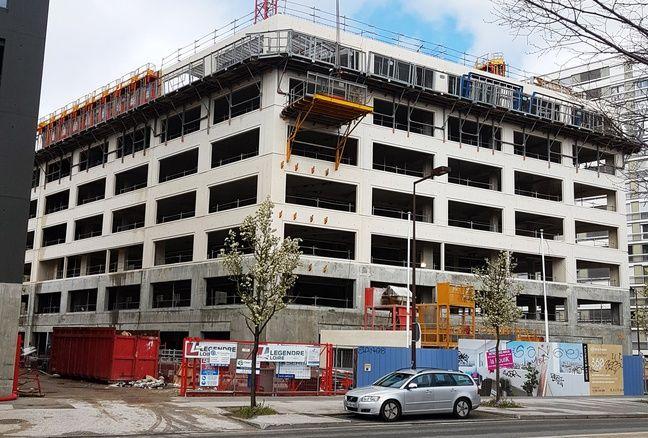 Les locaux du centre post-traumatique sont en cours de construction à Nantes.