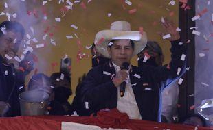 Pedro Castillo proclamé président du Pérou le 19 juillet 2021.