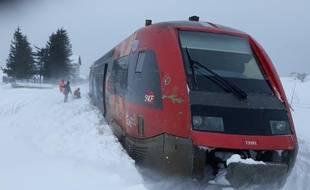 Un TER a déraillé en Lozère, sans faire de victimes