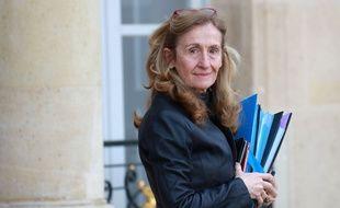 La Garde des Sceaux Nicole Belloubet devant l'Elysée le 29 janvier 2020.