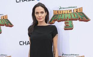 Angelina Jolie à l'avant-première de Kung Fu Panda 3