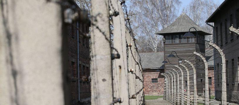 Le camp de concentration et d'extermination d'Auschwitz Birkenau, le 12 avril 2018.