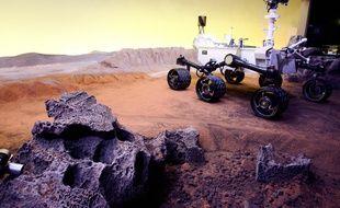 La cité de l'espace met en place une exposition temporaire sur la planète Mars. 16/02/2012 Toulouse