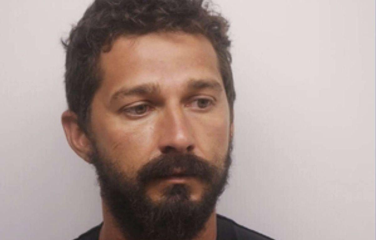 Photo de Shia LaBeouf prise par le bureau du Shérif de Chatham, en Géorgie. L'acteur a été arrêté pour trouble à l'ordre public le 8 juillet 2017.  – AP/SIPA