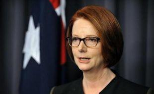 Gillard, première femme Premier ministre de l'histoire de l'Australie, n'est jamais parvenue à être populaire et les sondages la donnaient perdante le 14 septembre.