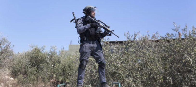 Un soldat israélien dans une colonie en Cisjordanie (illustration)